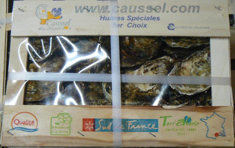 Huîtres Spéciales 1er choix - Produits de la mer