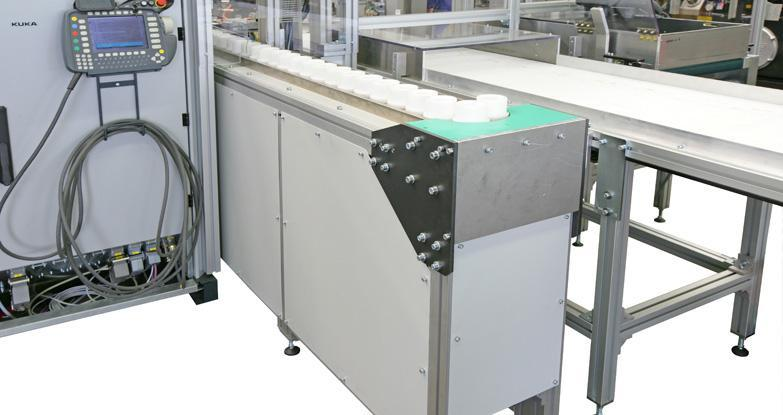 Feeding systems - linear vibrating conveyors