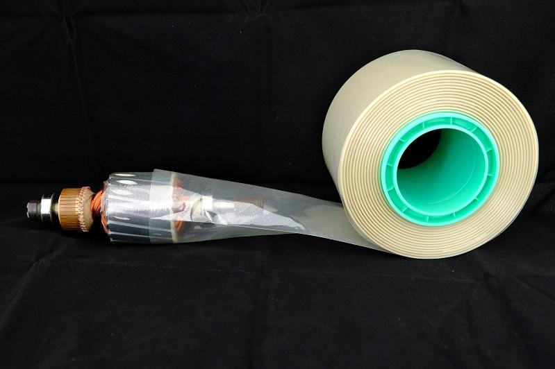 MYLAR HS NOISE REDUCTION TUBES, SPIRAL WOUND CONTINUOUS HEAT SHRINK
