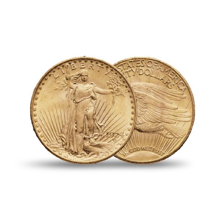 "PIECE OR ""20 DOLLARS - DOUBLE EAGLE"" - GOLDMARKET MARSEILLE - PIECE OR INVESTISSEMENT"