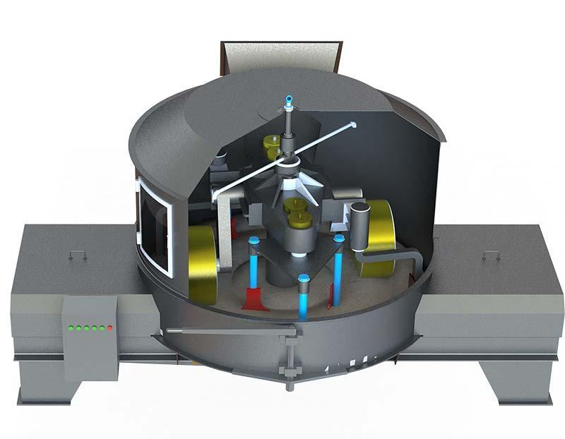 Бетоносмеситель интенсивный TITAN смеситель-механоактиватор - Смесительно-механоактиватор TITAN (бетоносмеситель интенсивного типа)