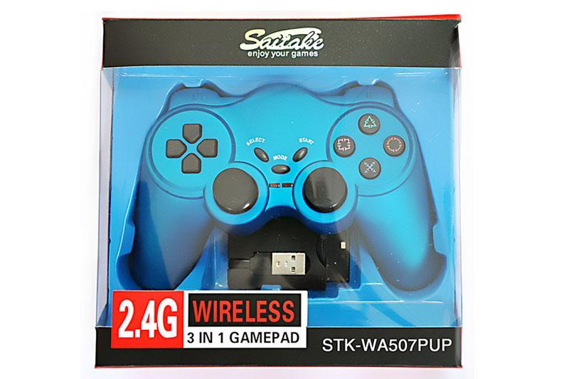 Wireless Gamepad For PS2/PS3/PC - STK-W507PUP