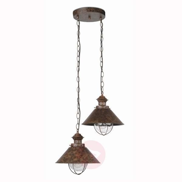 Tasteful Nautica Pendant Lamp , 2 Lamp - Outdoor Pendant Lighting
