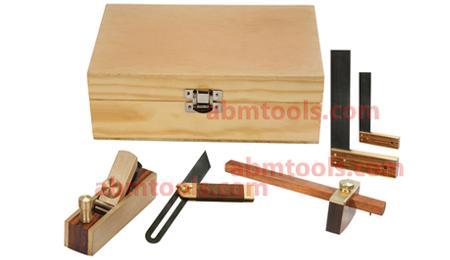 Carpenter Hobby Tool Kit - Set of 5