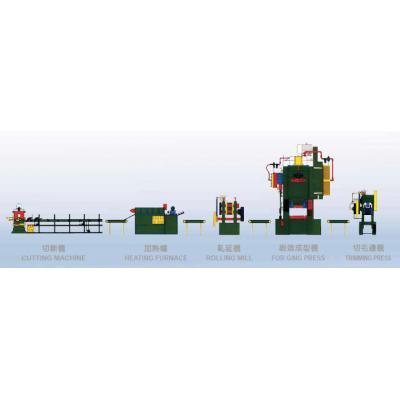 Forging Factory Arrangement - null