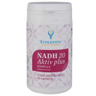 NADH 20 Active Plus 60 Capsules -