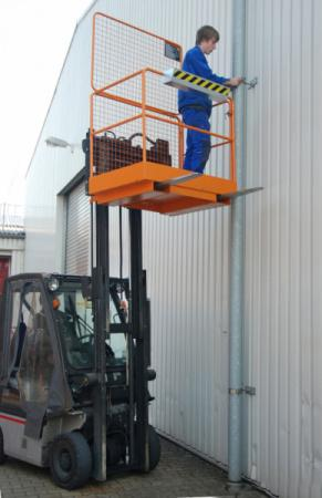 Safety cage type SIKO, forklift truck attachment