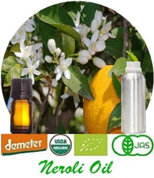 100% Pure Natural Neroli Essential Oil - (organic & conventional) for Fragrance, Flavor, Cosmetics, Pharmaceutical, Aroma