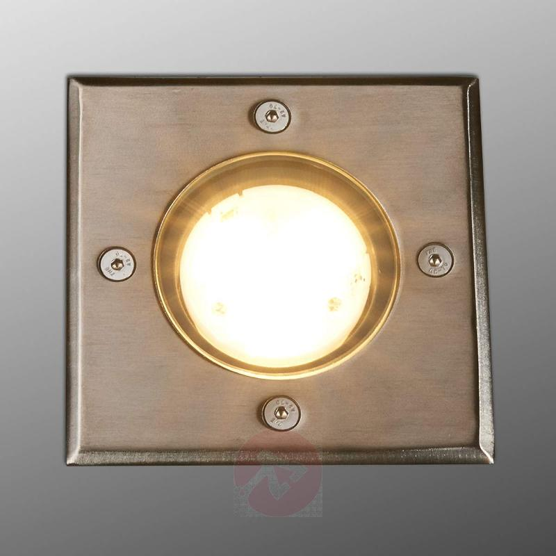 Rectangular LED installed ground light Ava, IP67 - Recessed Floor Lights