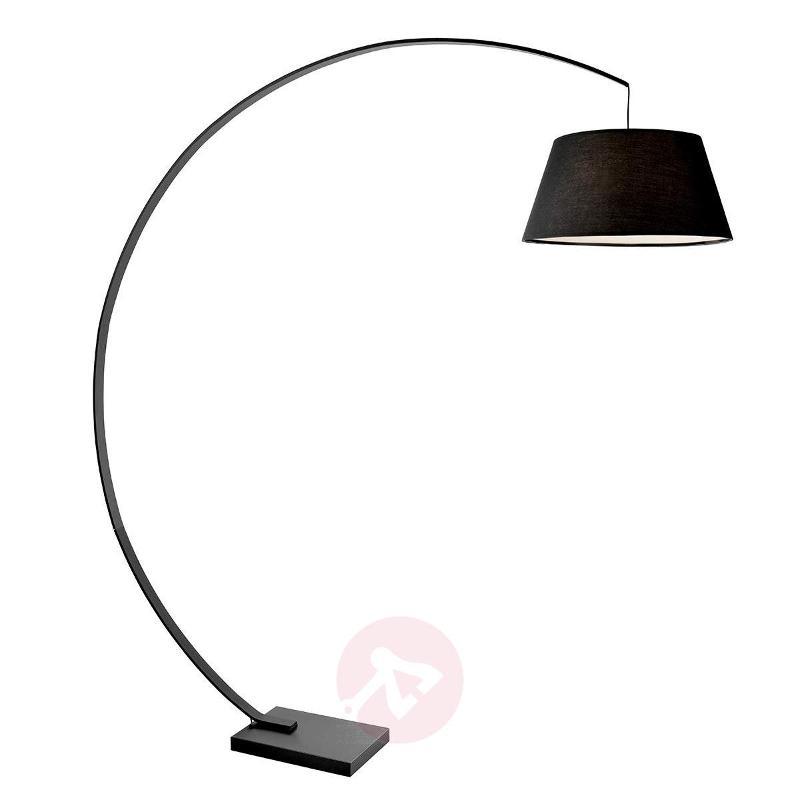Black arc floor lamp arc arc lamps lights germany black arc floor lamp arc arc lamps aloadofball Images