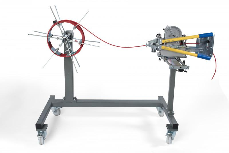 MESSROL 1000 manual ring winder - complete device - Manual ring winder