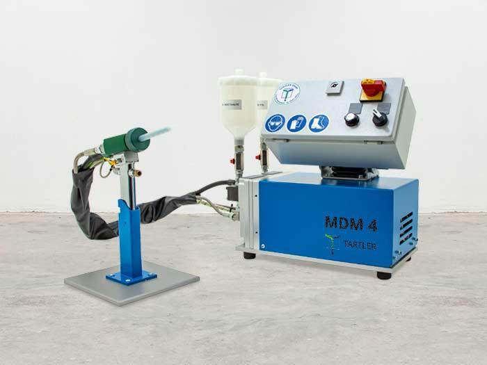 MDM | Flüssigharz Dosier- und Mischanlagen - Tischgeräte für die Verarbeitung von kleinen Mengen flüssiger Kunstharze