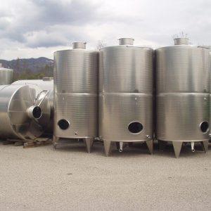 Serbatoi di stoccaggio - Vino