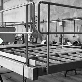 Escalier - Passerelle - Construction métallique