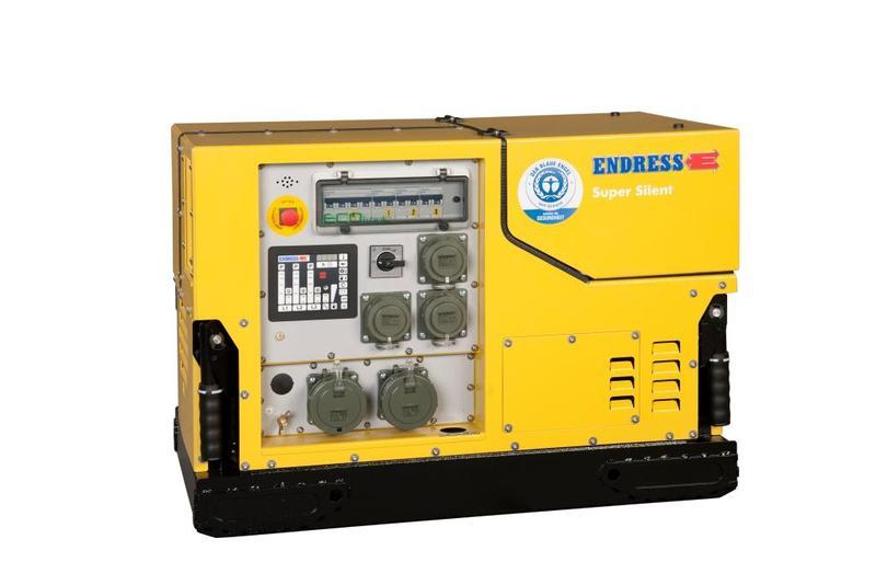 Generators for Fire & Rescue - ESE 908 DBG ES DIN Silent