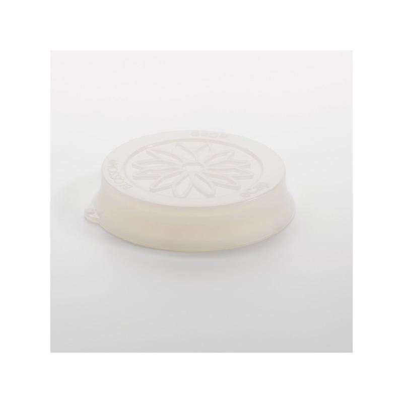 Cuffia in silicone Blossom eCAP Storage - diametro 60 mm, colore Bianco per vasi WECK