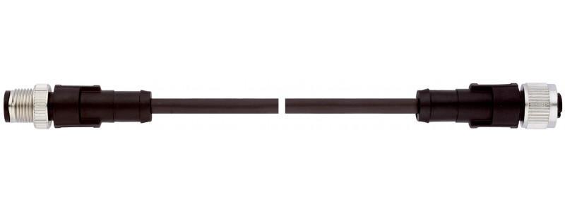 Cable de conexión sensor/actuador - Cable sensor/actuador UNITRONIC® PUR, M12-M12