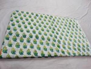 Block Print Garments Fabric -