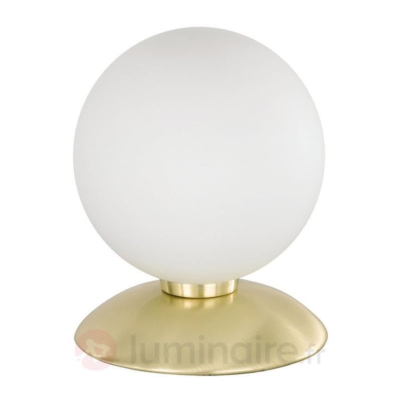 Lampe à poser BUBBA au design sobre en 2 coloris - Lampes de chevet