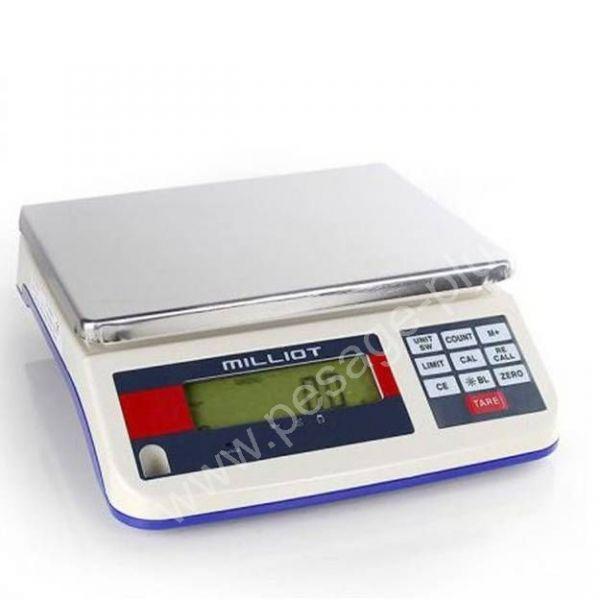 Balance industrielle 15Kgs précision 0.5gr - Balances de précision 0.01 à 5grs