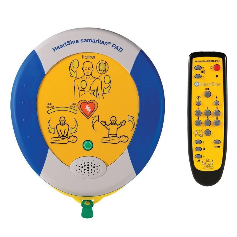 Défibrillateur de formation Heartsine Samaritan Pad Trainer - Sécurité des biens et des personnes
