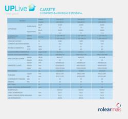 UPLIVE - CASSETE - O CONFORTO DA DISCRIÇÃO E EFICIÊNCIA
