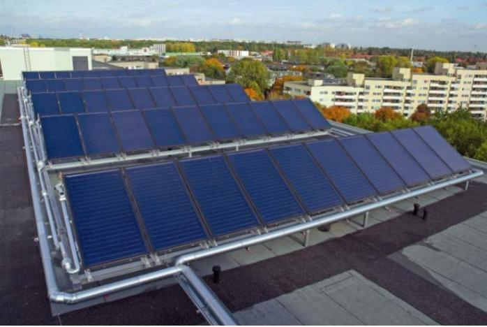 Bosch Domestic hot water Large solar thermal plants - Bosch Domestic hot water Large solar thermal plants