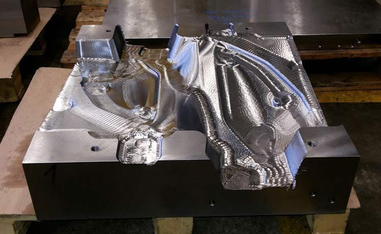 CNC groba obdelava gravurnih oblik -