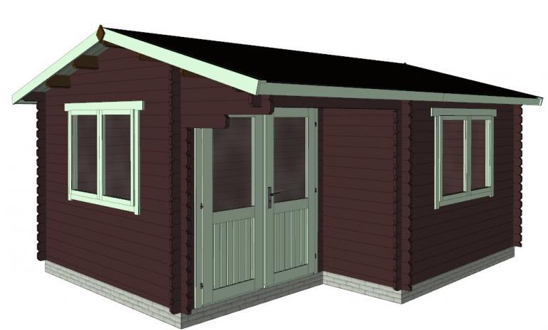 Садовые домики, беседки, гаражи, склады из бруса -