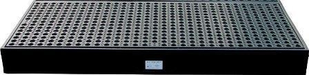 plancher polyéthylène et plateforme rétention 120 litres - BRP PL120 Bacs de rétention acier et plastique