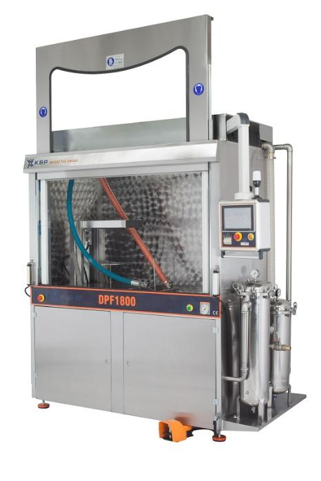 DPF1800 - DPF Dizel Partikül Filtre Temizleme Makinesi