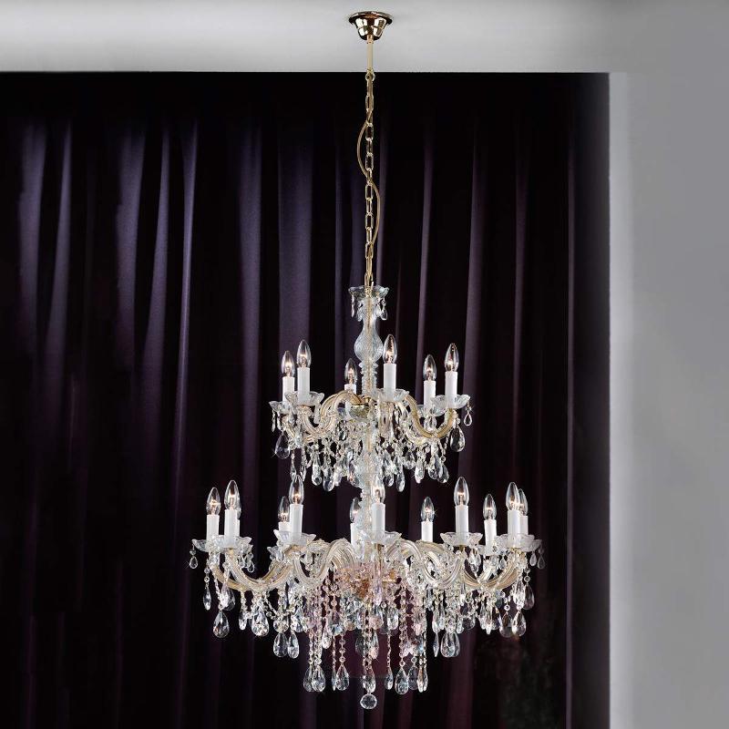 Thera Chandelier Impressive 90 cm - Chandeliers