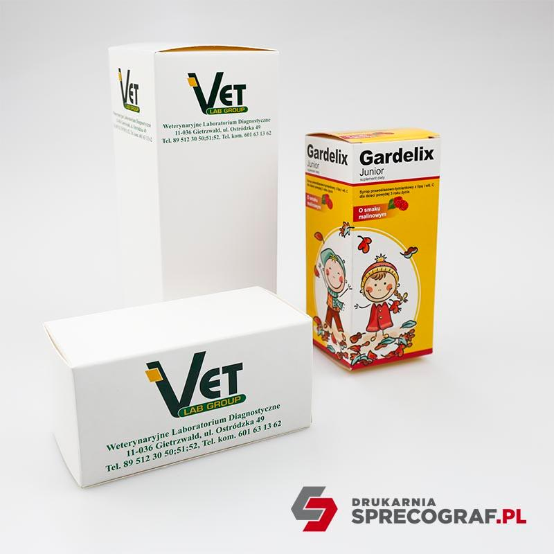 Paper boxes for pharmaceuticals - Paper boxes for custom products