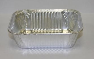 Прямоугольная форма из пищевой фольги для выпечки R9G - Одноразовая посуда из фольги (Касалетка) 280 мл R9G