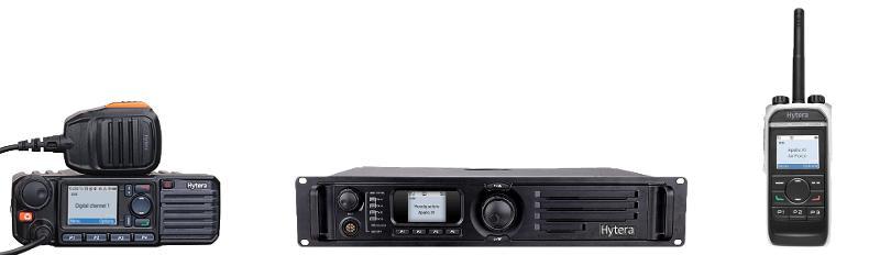 Portable Radios  - Hytera