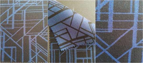 polyester/la laine 65 35 - pour le costume / fils teints