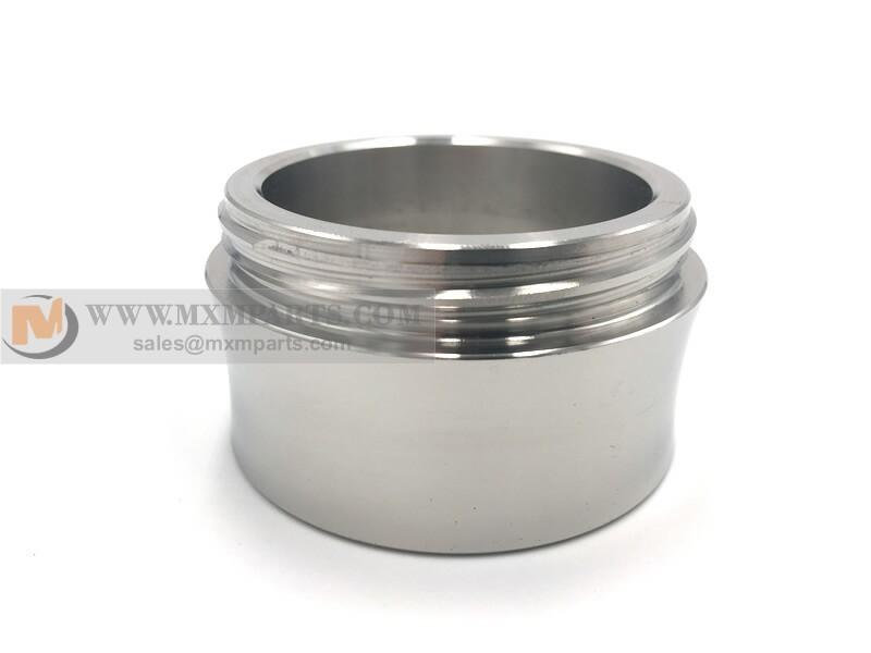 Machined tube coupling - China machine parts manufacturer custom machining tube couplings