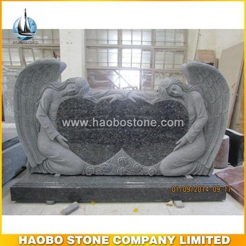 Double Angel Headstone Tombstone - Australian Tombstone