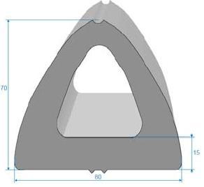 Manufacturing of bumper rubber profiles
