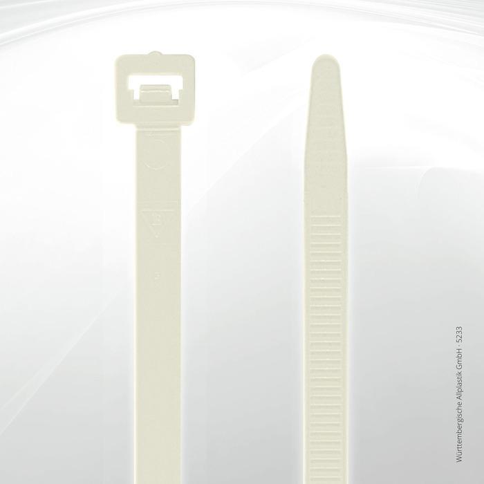 Allplastik-Kabelbinder® cable ties, standard - 5233 (natural)