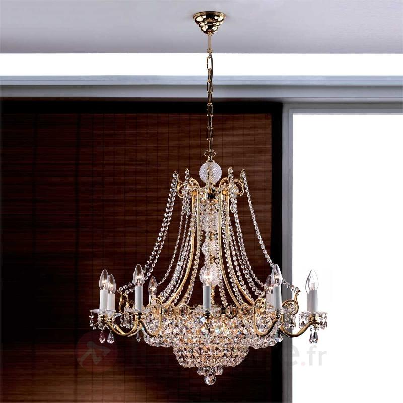 Splendide lustre NAGOJA, doré - Lustres classiques,antiques