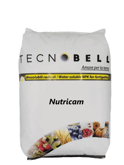 NUTRICAM - Engrais solubles dans l'eau pour la fertigation avec du calcium et du magnésium