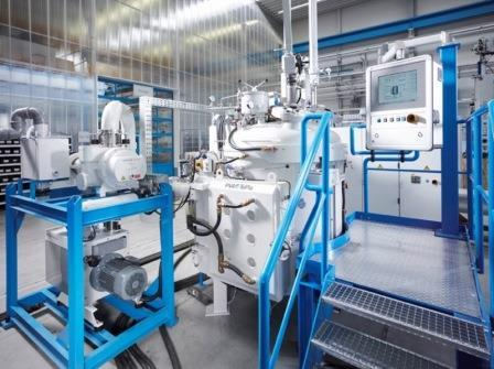 Inductive vacuum melting and casting systems type VSG - … for melting of metals or alloys under vacuum or controlled protective gas.
