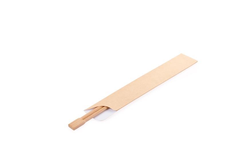Flatware pocket - Kraft flat pockets for chopsticks, tableware, and other goods