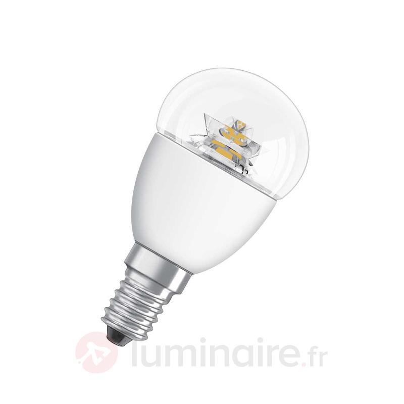 Ampoule goutte LED Star transparente E14 6W 827 - Ampoules LED E14