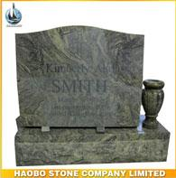 Haobo Stone Tombstone and Monuments Granite Headstone Sandblasting