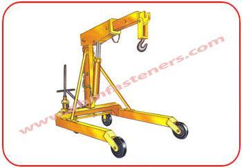Hydraulic Mobile Floor Crane - Movable Floor Crane