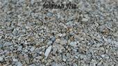 Graviers - Prignac : Gravier de finition plat arrondi blanc/gris taille