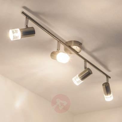 Floral LED ceiling light Silur - indoor-lighting