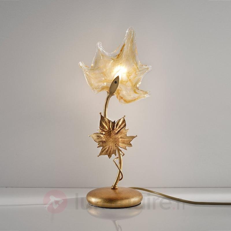 Lampe à poser Elite en verre de Murano - Lampes de chevet